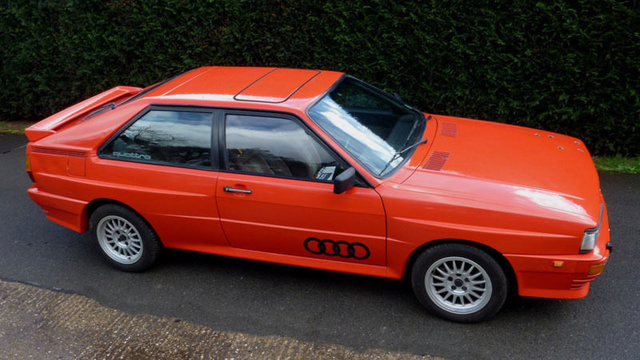 Now You Can Own Gene Hunt's Audi Quattro From Ashes To Ashes