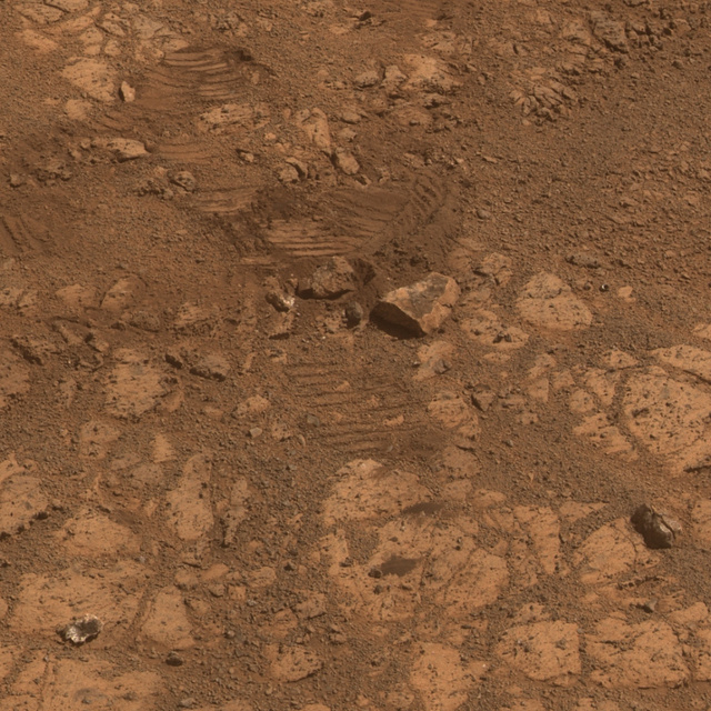 NASA reveals the mystery of the rock that suddenly materialized on Mars