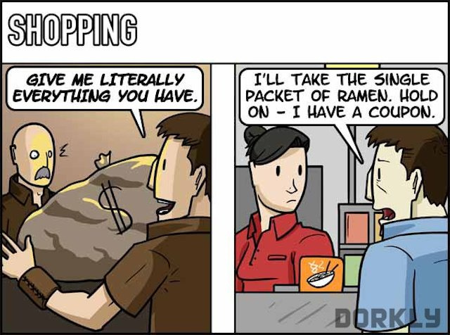 The hilarious differences between video games and real life