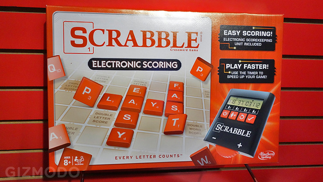 Scrabble's New Electronic Score Tracker Will Save Competitive Families