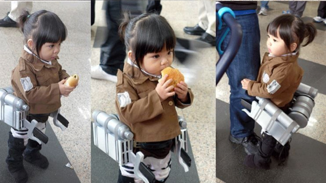 The Littlest Attack on Titan Cosplayer Is Simply Adorable