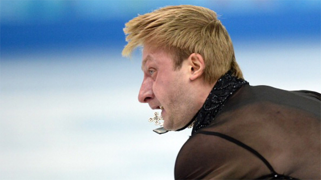 Watch the laws of physics turning pretty ice skaters into ugly derps