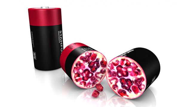 Pomegranate-Inspired Batteries Hold 10x The Juice