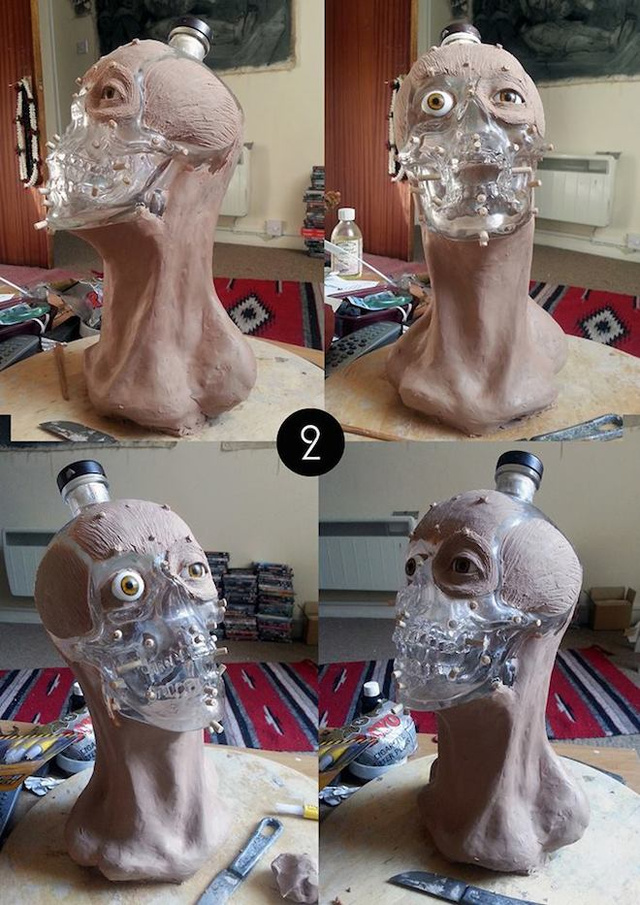 Forensic Artist Reveals the Face for that Skull-Shaped Vodka Bottle