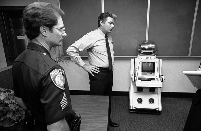 Was This The First Robot Ever Arrested?