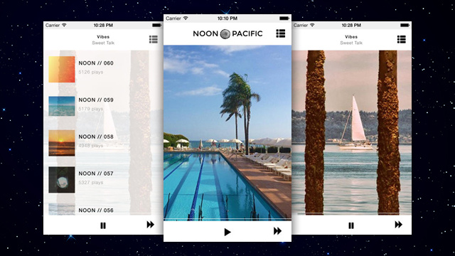 Noon Pacific for iPhone Takes Your Awesome Weekly Playlists With You