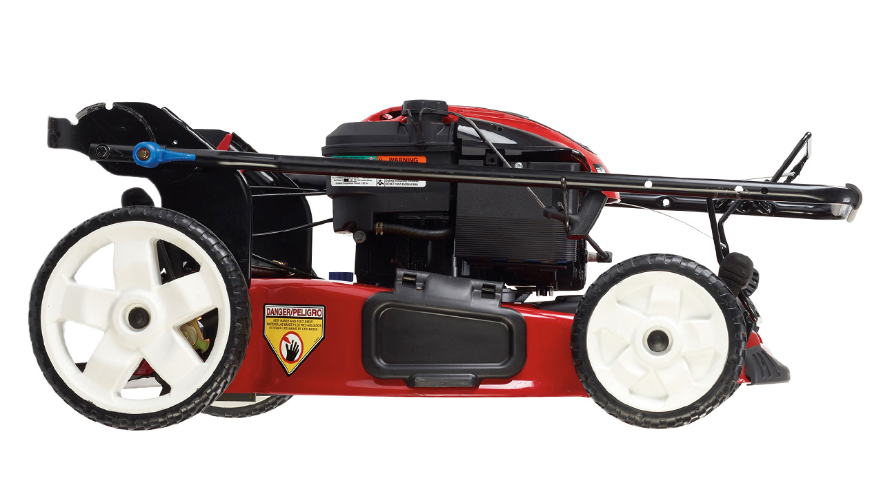 Improved Gaskets Let You Store This Mower Upright Without Fuel Leaks