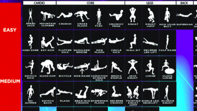 Core Exercises With Weights Exercises no Weights