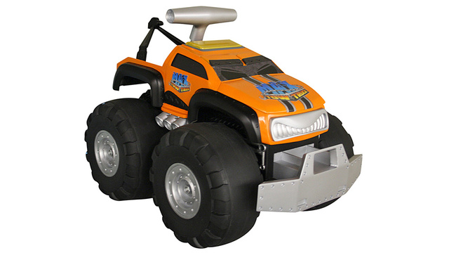 The Samson of Toy Trucks Can Push and Pull Up To 150 Pounds
