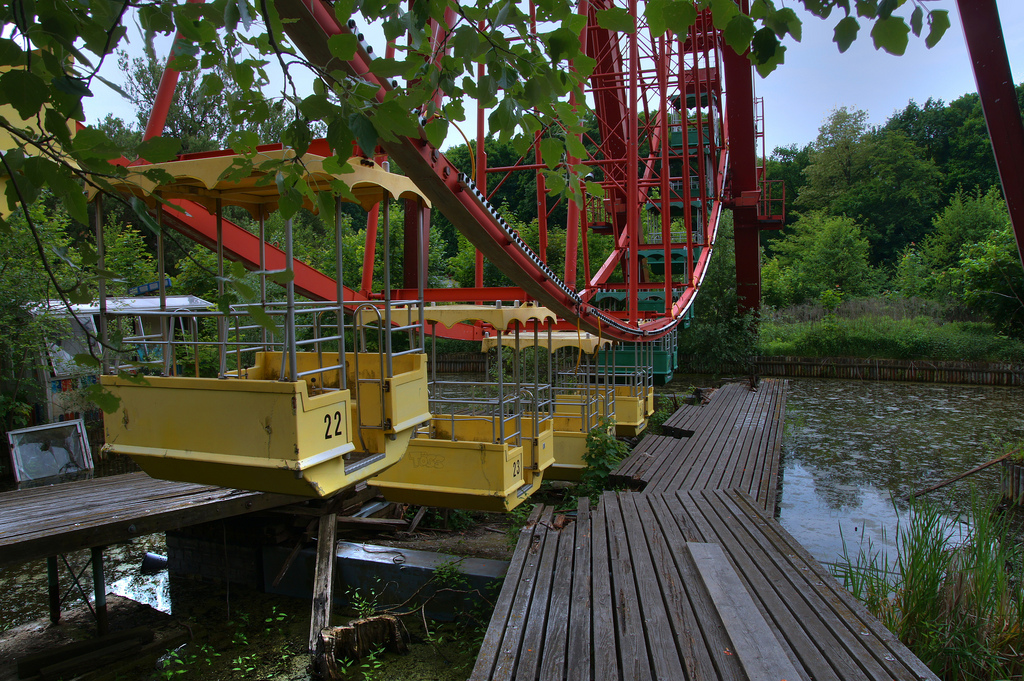 Berlin S Abandoned Amusement Park For Sale On Ebay Forums Coasterforce