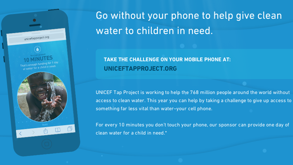 Help Get Clean Water To Kids In Need, Just By Ignoring Your Damn Phone