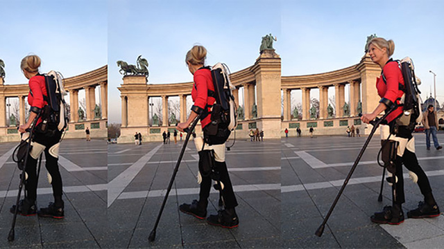 Wheelchair-Bound Woman Walks Again With a 3D Printed Exoskeleton