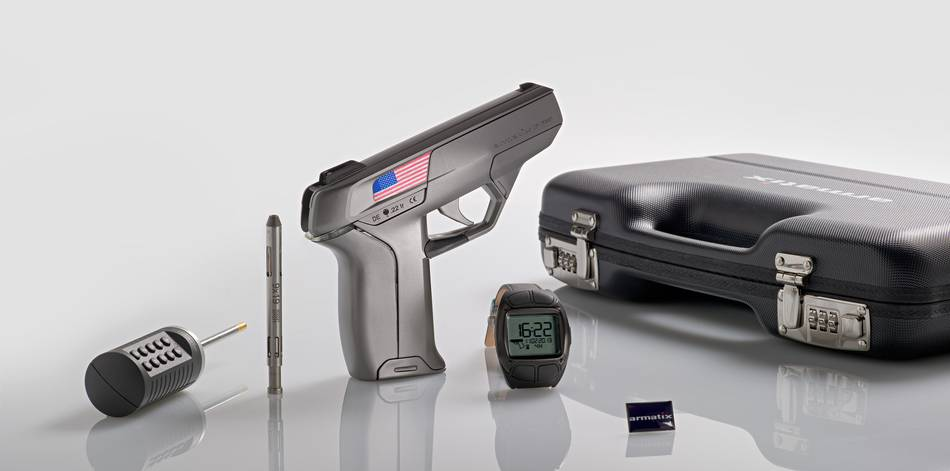 Will This Watch-Controlled Smart Pistol Really Make Owning a Gun Safer?