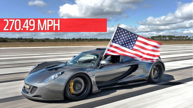 The Hennessey Venom GT Is The Fastest Car In The World At 270.49 MPH