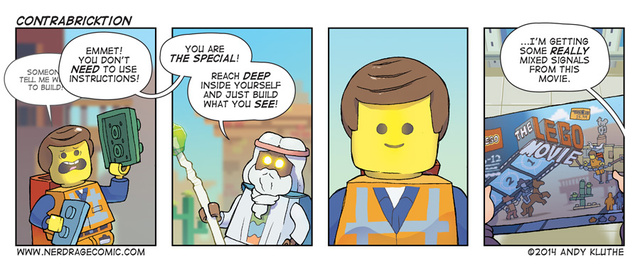 Everything Is Awesome The Lego Movie Archive The Return Of Talking Time