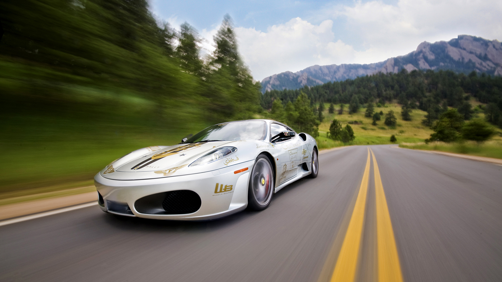 your ridiculously cool ferrari f430 wallpaper is here. Black Bedroom Furniture Sets. Home Design Ideas