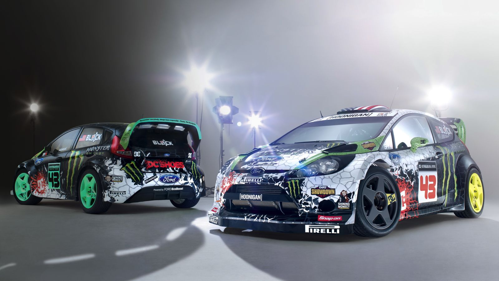 your ridiculously cool 2012 ken block ford fiestas. Black Bedroom Furniture Sets. Home Design Ideas