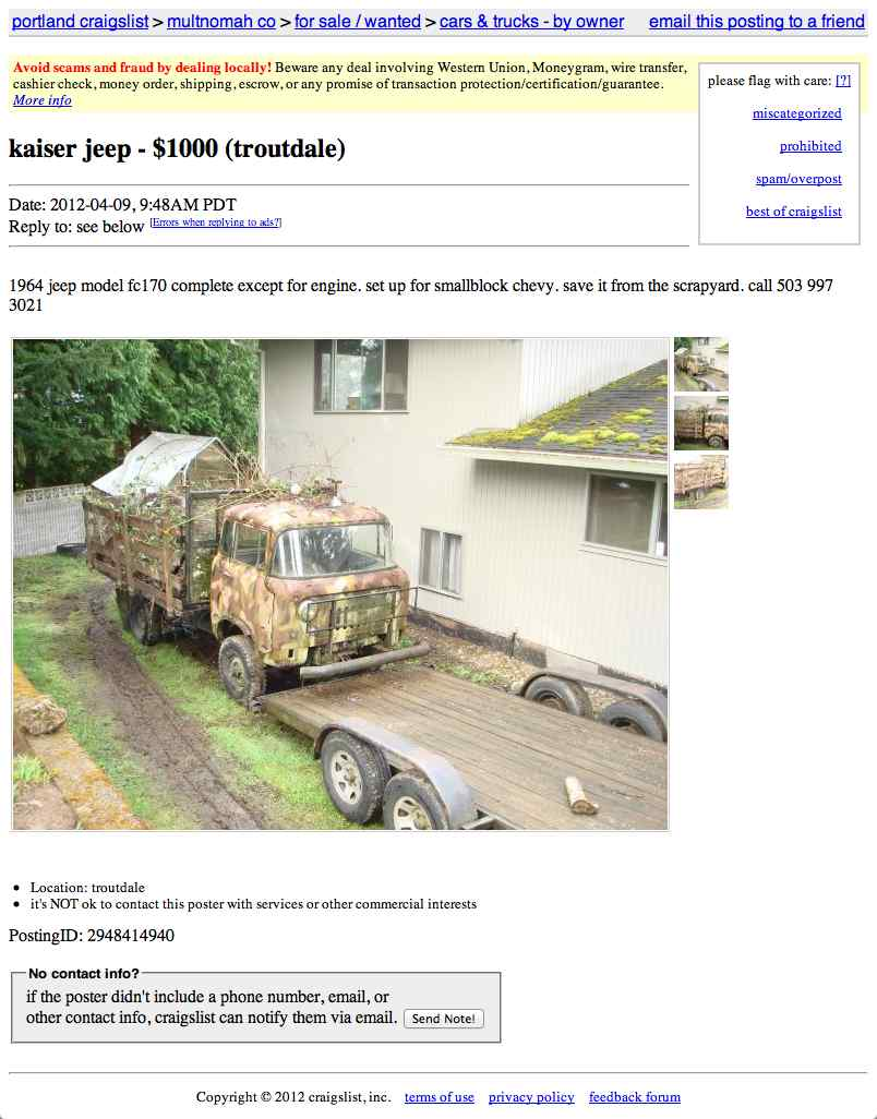For $1,000, Go Deep In The Bush
