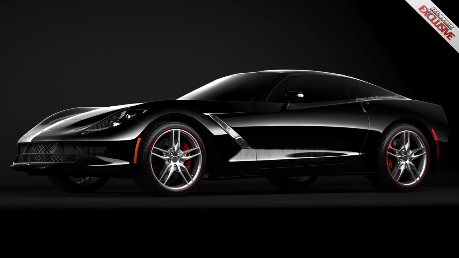 "More information about the 2014 ""C7 Visualization"" Corvette"