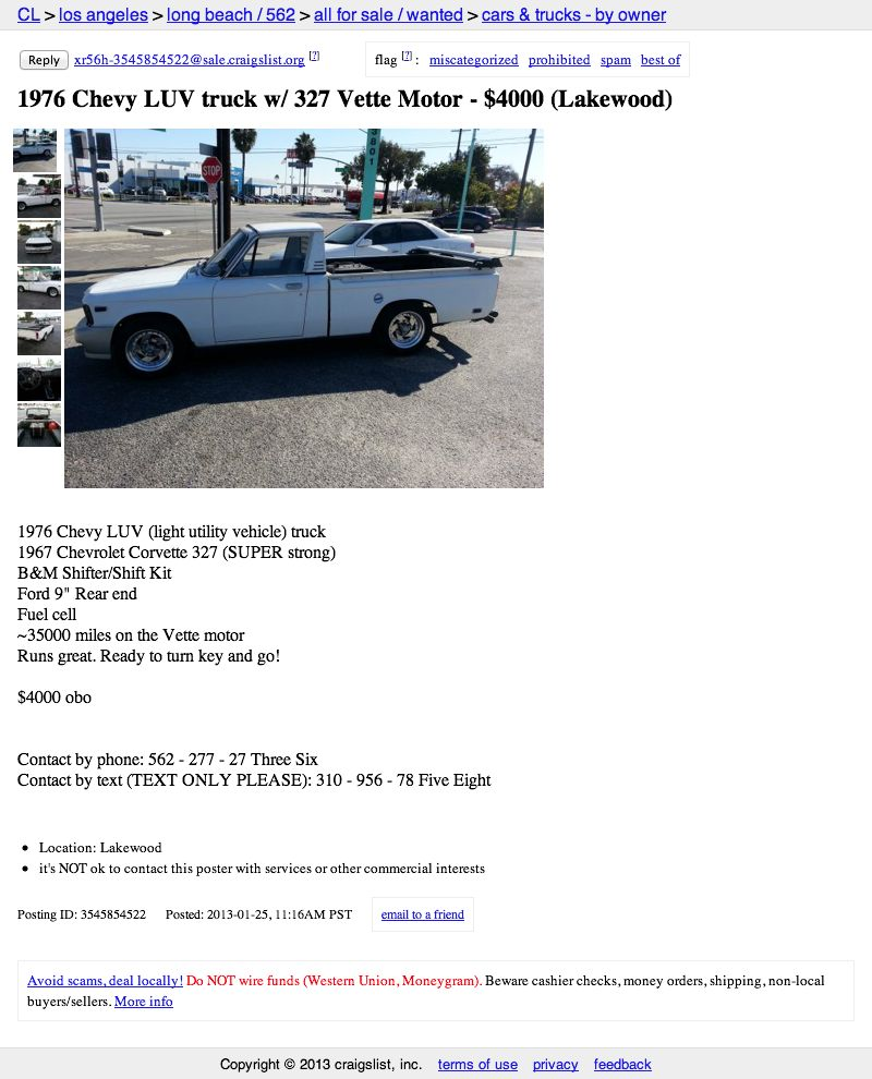 For $4,000, What's Not To LUV?