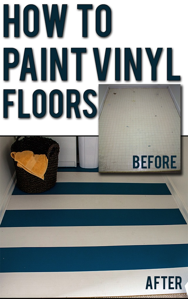 Laminate flooring can you paint over laminate flooring for Painting over vinyl floor