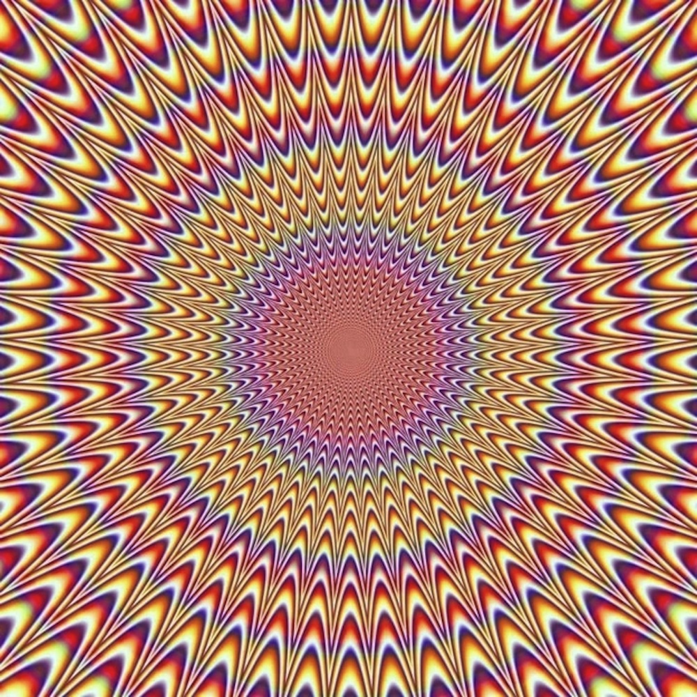 This Optical Illusion Makes Me Trip Balls on omg scary pitures