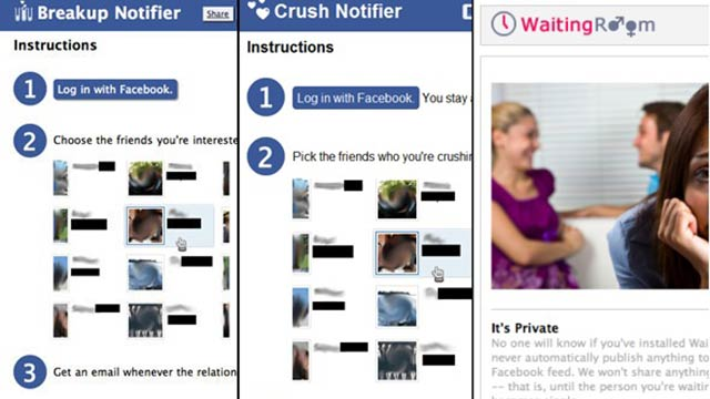 Look Who's Stalking: The 10 Creepiest Apps For Phones, Facebook, More