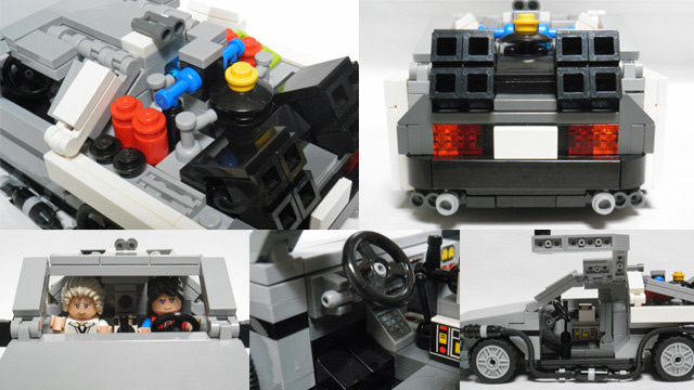 The Lego Back to the Future Set Is Now OFFICIAL!