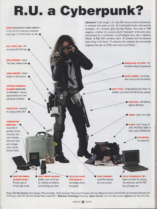 Are You a True Cyberpunk? Consult This 90s Guide to Find Out