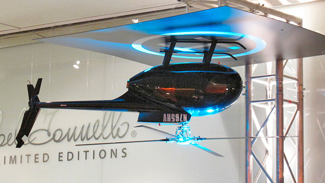 An Upside Down Helicopter Makes For One Bad-Ass Ceiling Fan