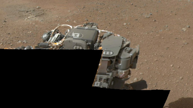 First Color 360-Degree Panorama Sent By Curiosity Rover Show No Sailors Fighting In the Dance Hall
