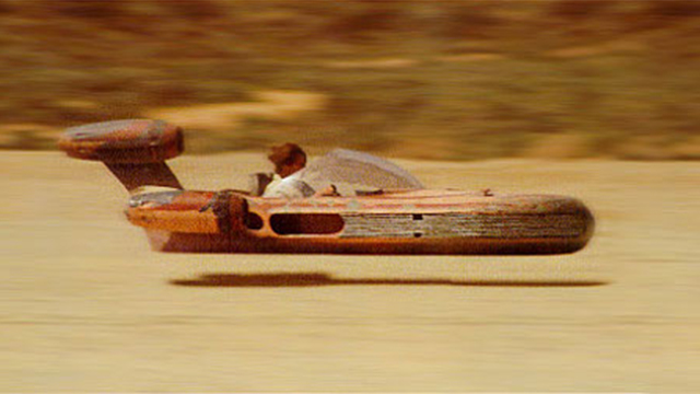 They Finally Made a Flying Star Wars Speeder Bike!