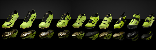 Why Are All the Olympic Athletes Wearing Bright Green Shoes?