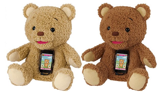 With a Smartphone Dock For a Heart, This Teddy Bear Will Terrorize Your Kids