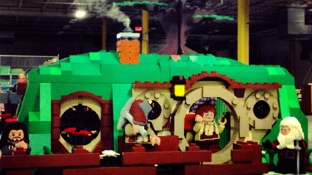 This Insane Life-Sized Lego Hobbit Bag End Is Made With Two Million Bricks