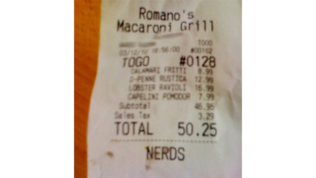 10 Insults Hidden on Shopping Receipts