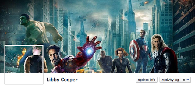 This Girl Has the Best Facebook Cover Photos