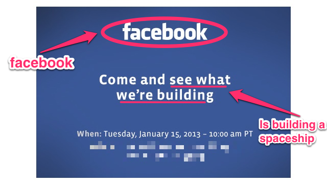 What Is Tomorrow's Big Facebook Mystery?