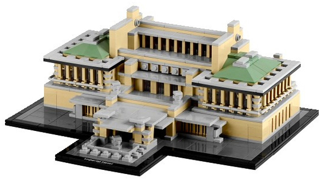 Lego Embrickens Another Frank Lloyd Wright Masterpiece: The Imperial Hotel
