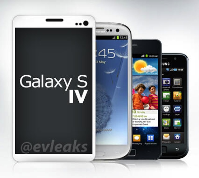 Is This What the Samsung Galaxy S IV Looks Like?