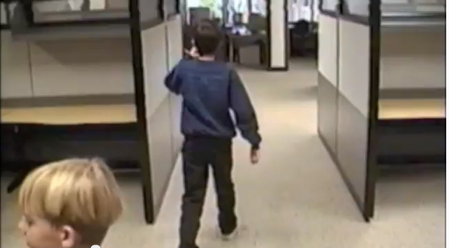 The Incredible Footage of an 11-Year-Old's Tour Through the Google Office of 1999