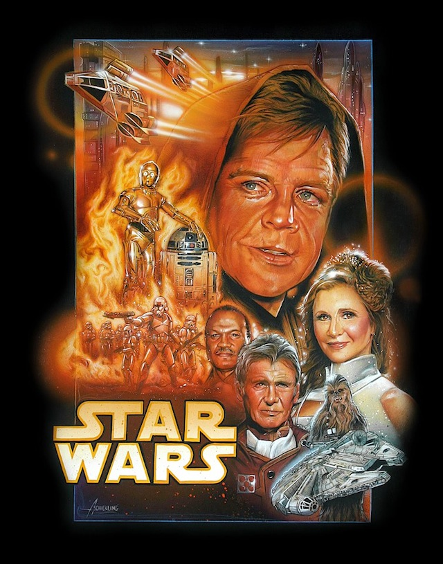 This Portrait of Old Star Wars Characters Should Be the Movie Poster for Star Wars Episode VII