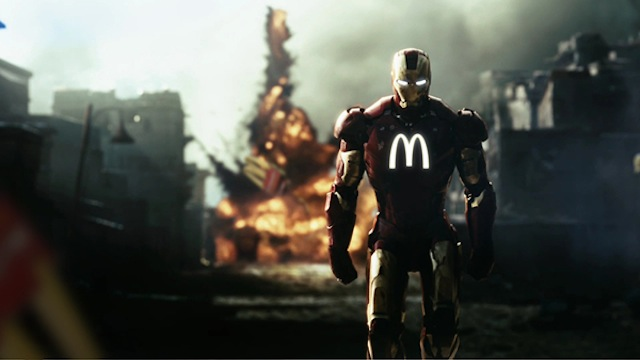 If Superheroes Were Sponsored By Famous Brands