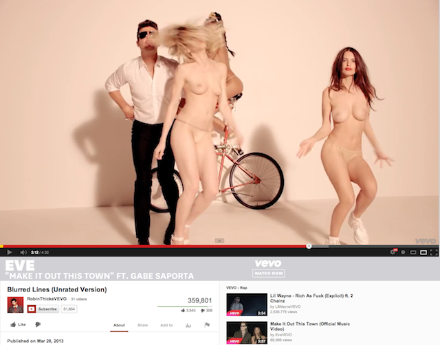 Officially NSFW: YouTube's Naked Lady Problem (NSFW)