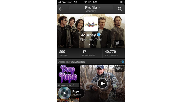 Twitter #Music Hands On: A Celeb-Stalking, Music Discovery Dream
