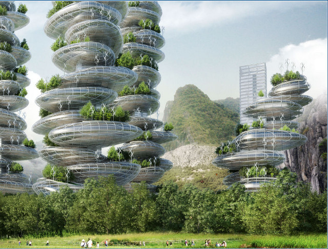01 1 China's 'Farmscrapers' are Highrises That Will Generate Their Own Food