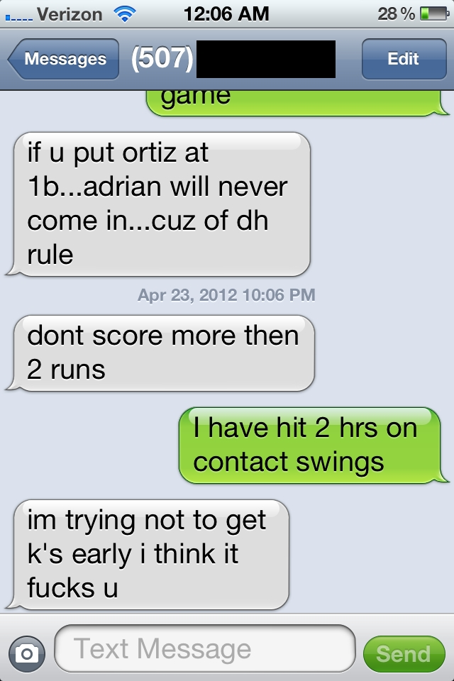 Cheating Facebook Messages   if u put ortiz at