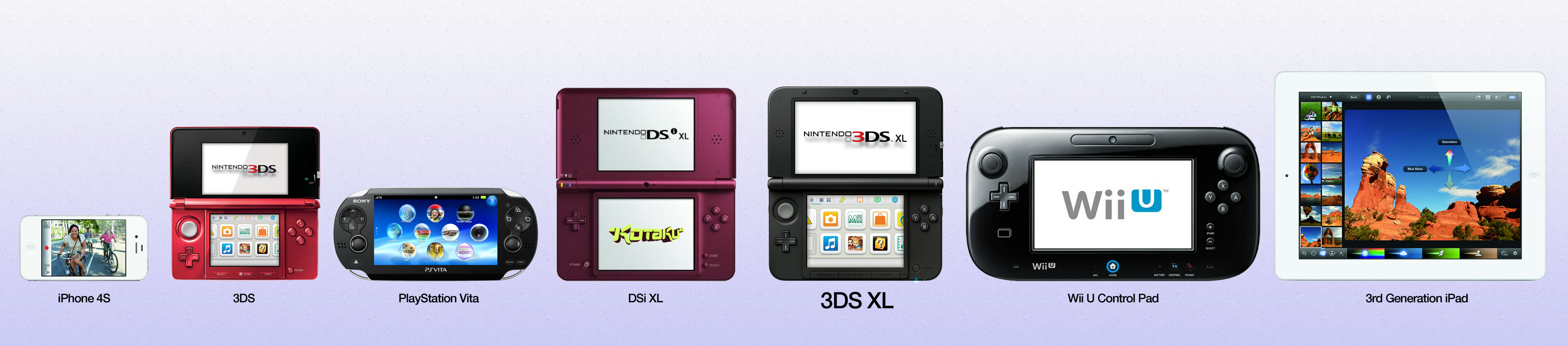 let 39 s see how nintendo 39 s new 3ds xl sizes up to the. Black Bedroom Furniture Sets. Home Design Ideas