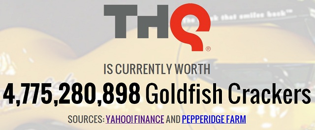THQ Is Currently Worth 14,214,046 Happy Meals
