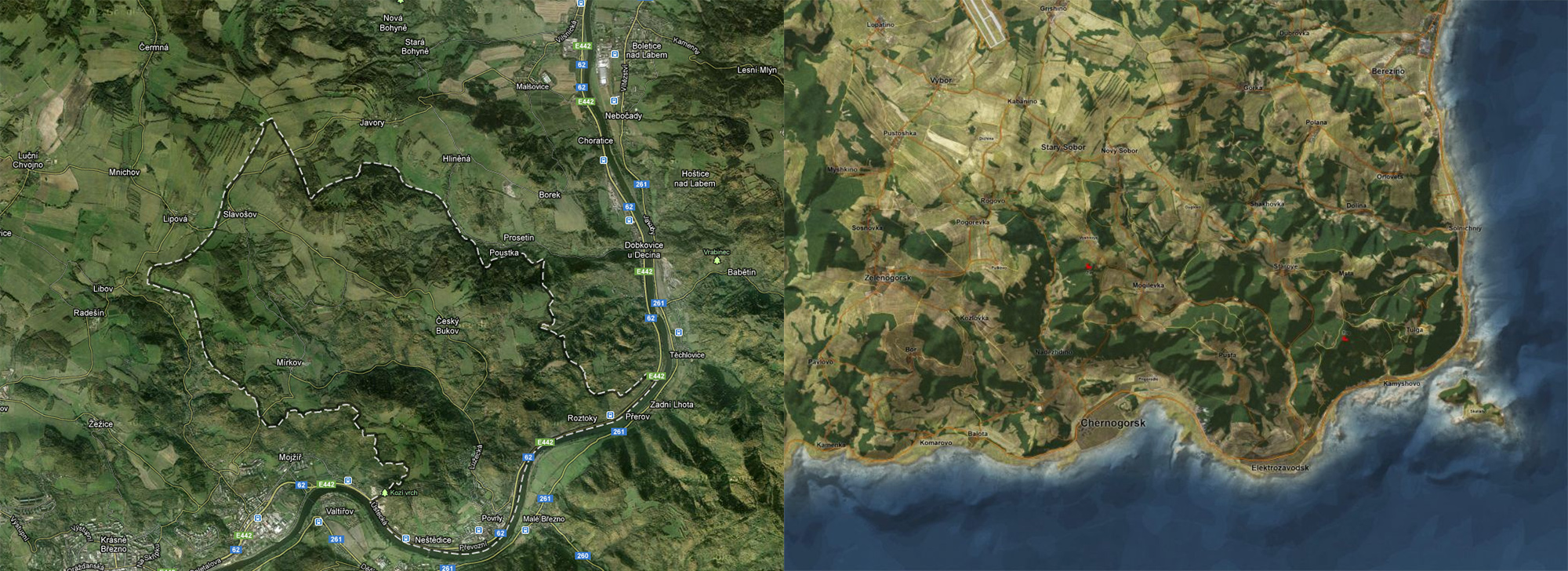 Dayz Interactive Map on